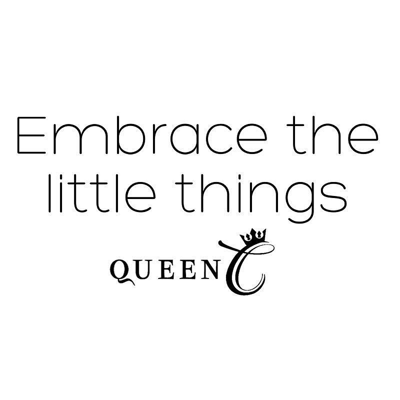 Sometimes the little things mean the most.  Have a Royally pamper day!  www.QueenCHair.com