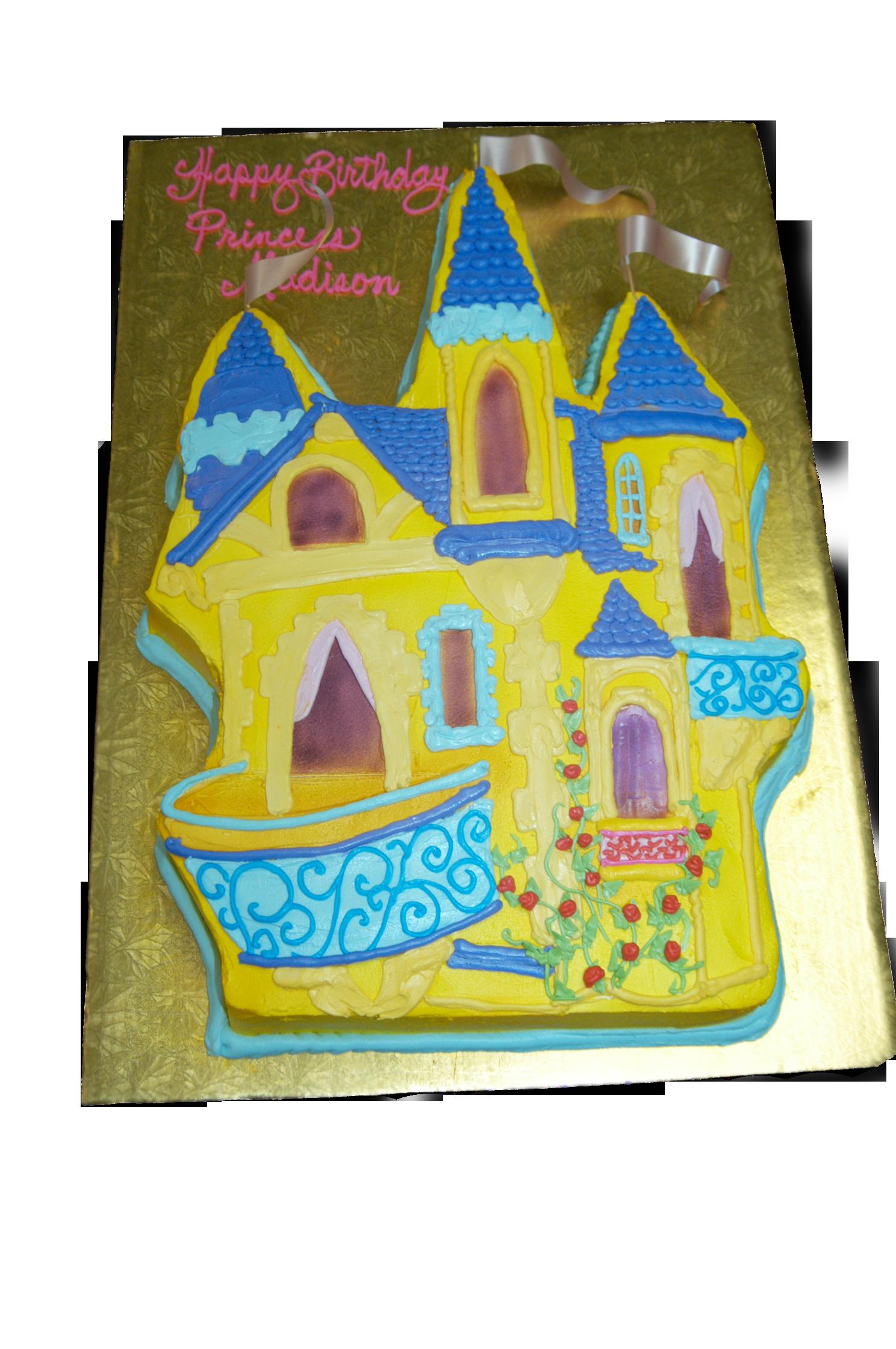 Princess Castle Cake Cutout