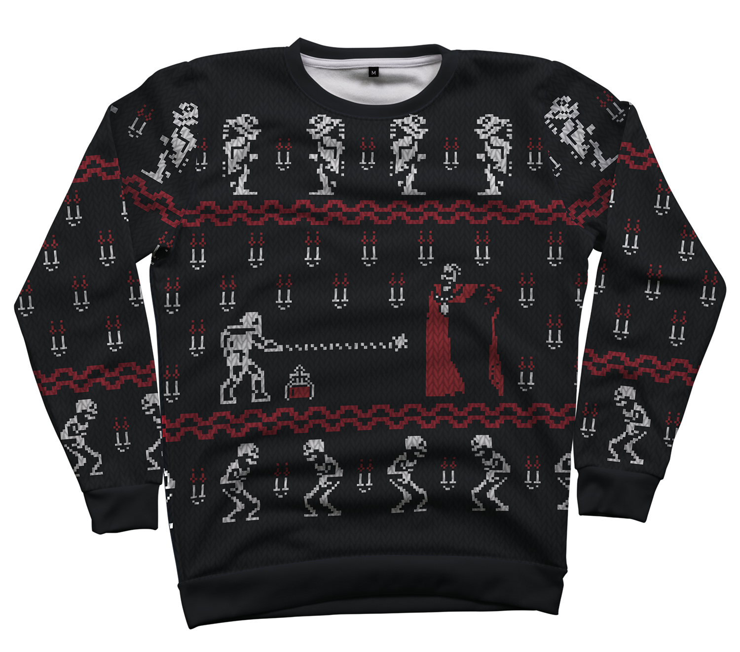 Christmasvania All Over Crewneck By RetroReview Design By