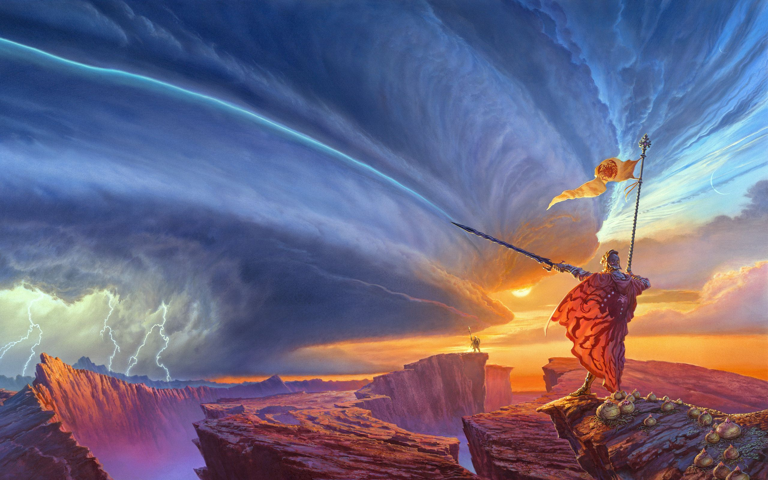 Cover Art By Michael Whelan For The Book The Way Of Kings By Brandon Sanderson Paysage Fantastique Art Fantastique Paysage Grandiose