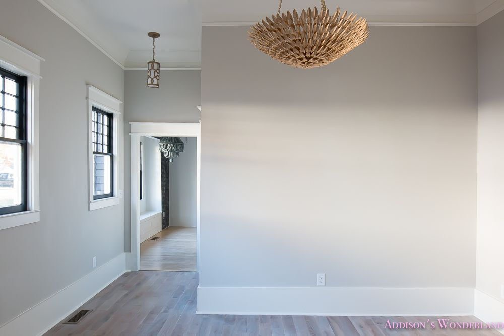 our family room post construction reveal craftsman door arch doorway and living room lighting. Black Bedroom Furniture Sets. Home Design Ideas