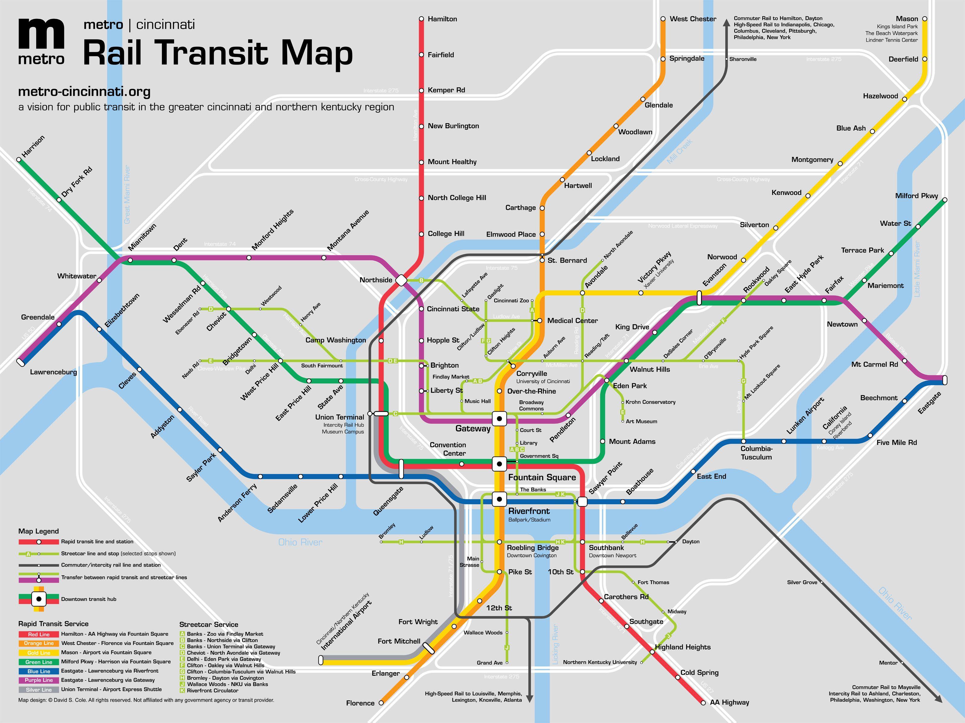 Cincinnati Neighborhood Map Google Search Transit