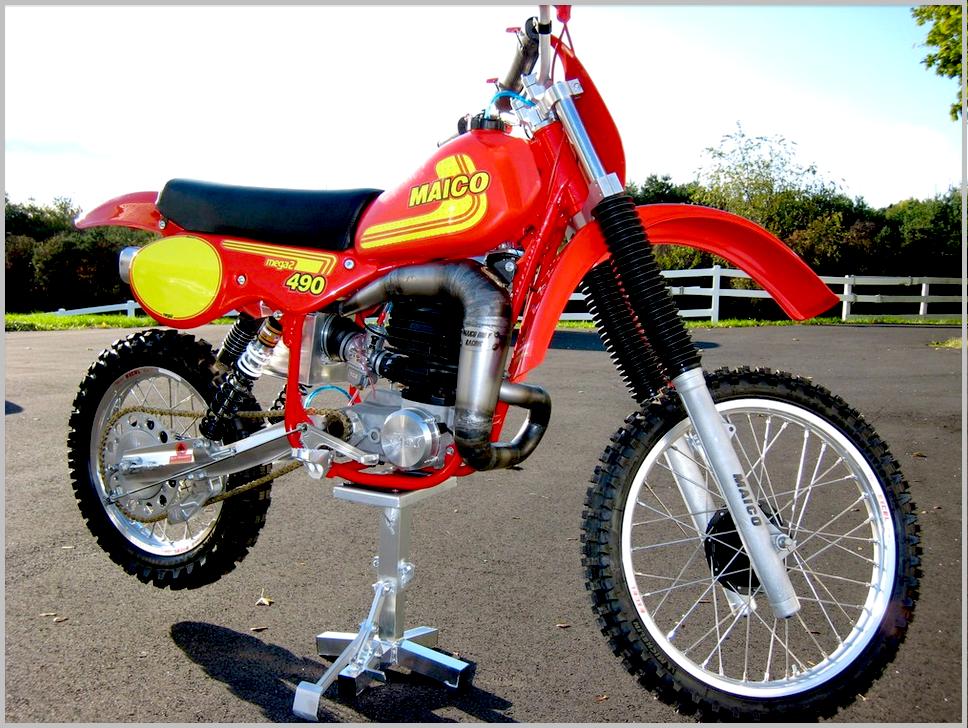 Ready to Rip   The Legendary 1981 Maico 490: Motocross