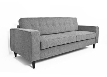 New 3 Seater Sofa Button Back Style Nz Made 3 Seater Sofa