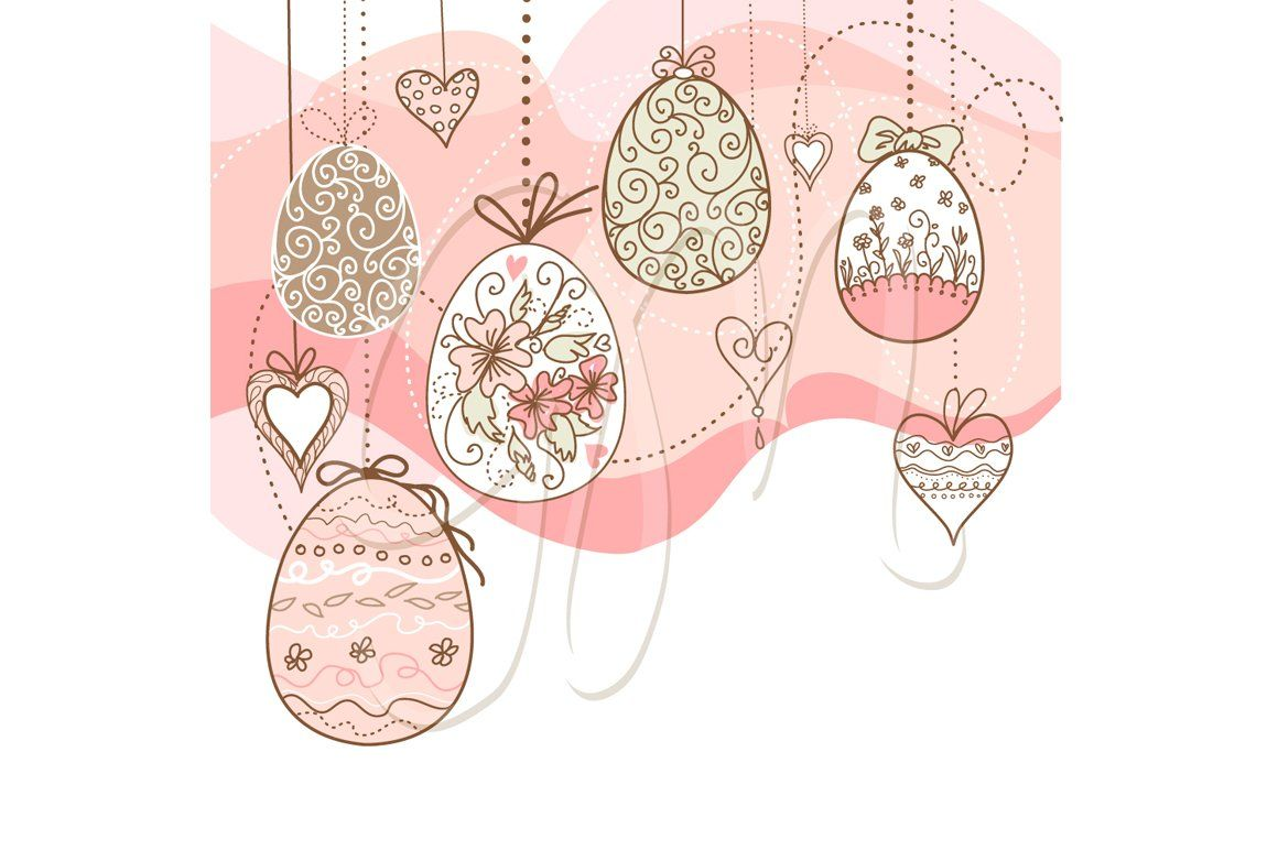 Easter Clip Art And Card Templates Seasons Greetings Card Card Templates Gift Wrapping Paper