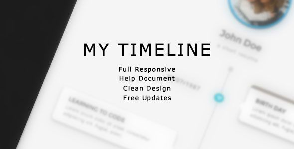 Nice My Timeline The Personal Timeline Themes Templates