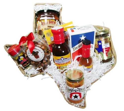 Texas Wildfire Taste of Texas Gift Basket