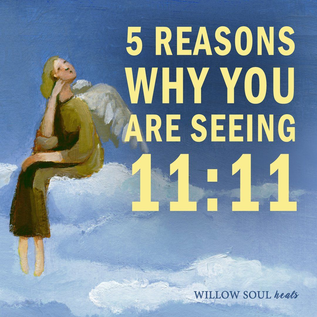 You were guided here to find out about the 1111 meaning. Seeing 11:11 is a wake-up call. Angelic beings are close by and they want to bring you clarity and guidance. It's an angel message for you to decode. Here are 5 common spiritual meanings and reasons of why you're seeing number pattern 11:11 everywhere.