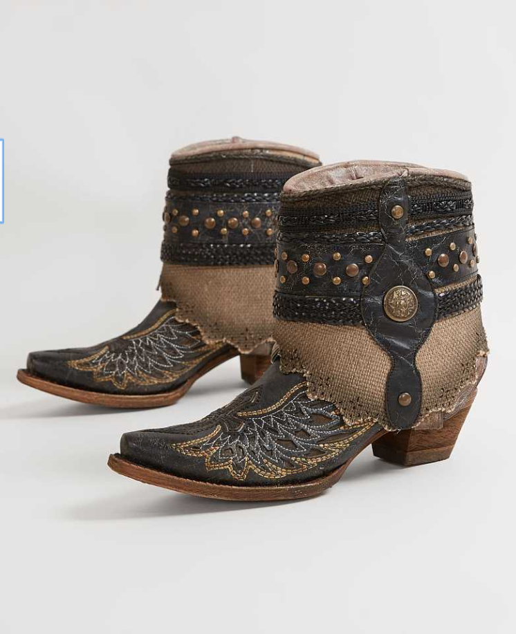 corral flipped ankle boot