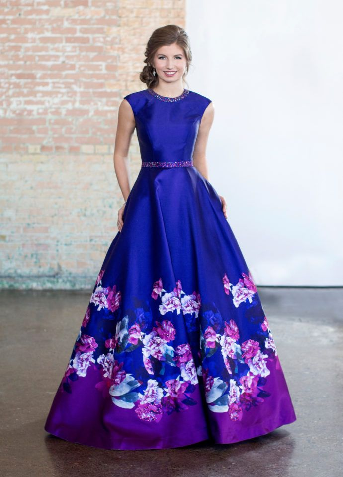Modest Prom Dresses 2018 - Conservative Prom Dress | Pinterest ...