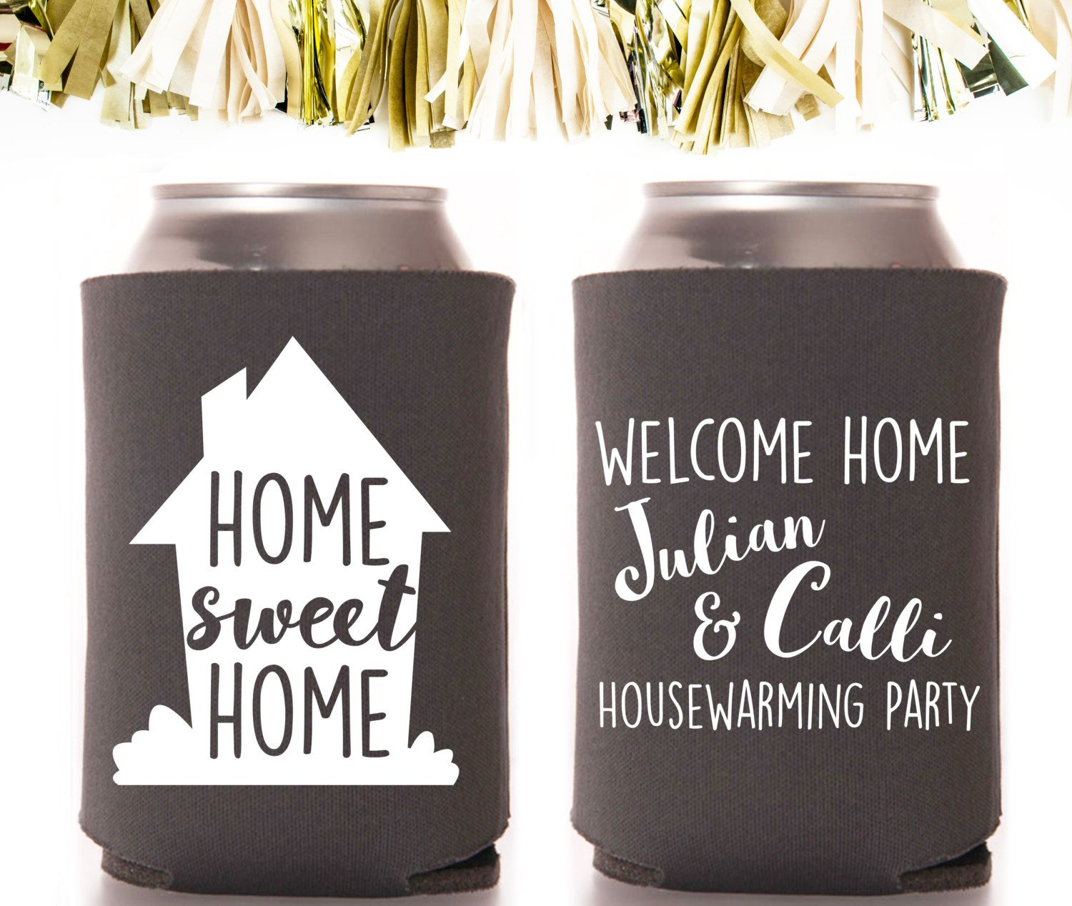 Housewarming Home Sweet Home Party Favors: Custom and Personalized ...
