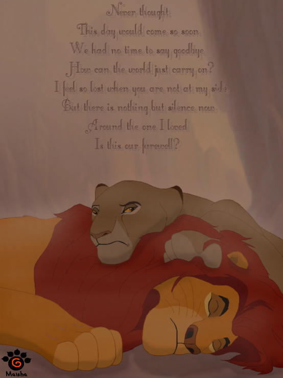 But The King Is Dead By Mayshha On Deviantart Lion King Quotes Lion King Pictures Disney Quote Lion King