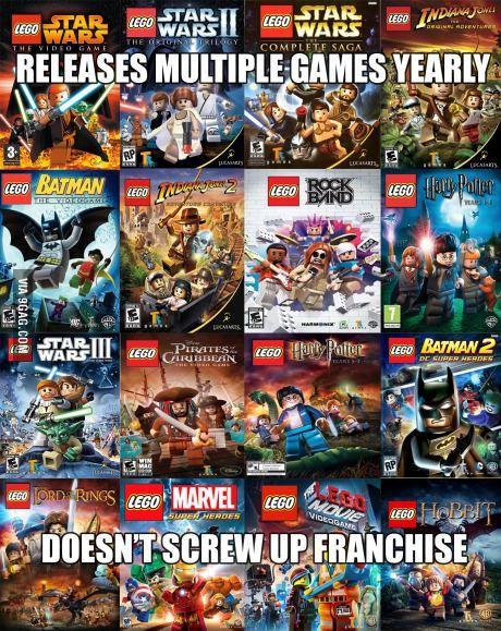 Ea Take Note Lego Videos Lego War Lego