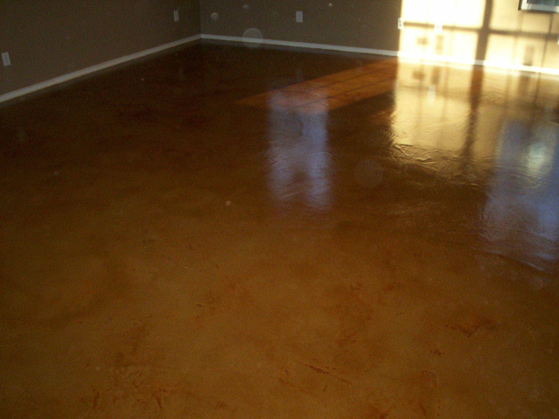 Photo of Concrete Acid Staining