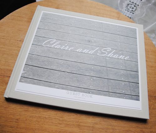 Wedding Guest Book Designed by A Box Full of Matches