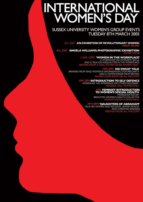International Women's Day Poster Design | art and art | Pinterest ...