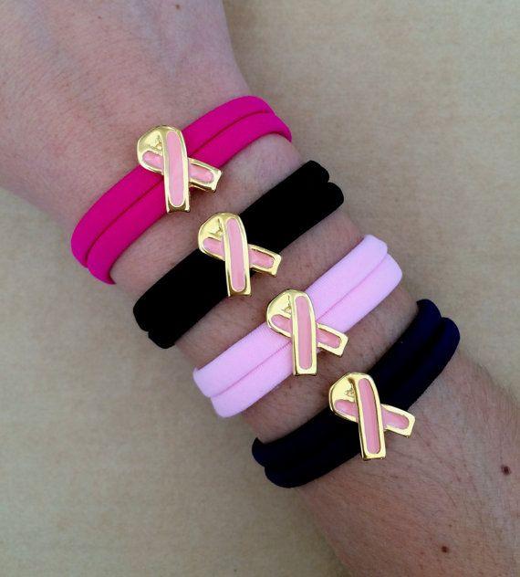 Pin By Izou On Awareness Bracelets By Izou Gr Cancer Awareness Cancer Elastic Ribbon