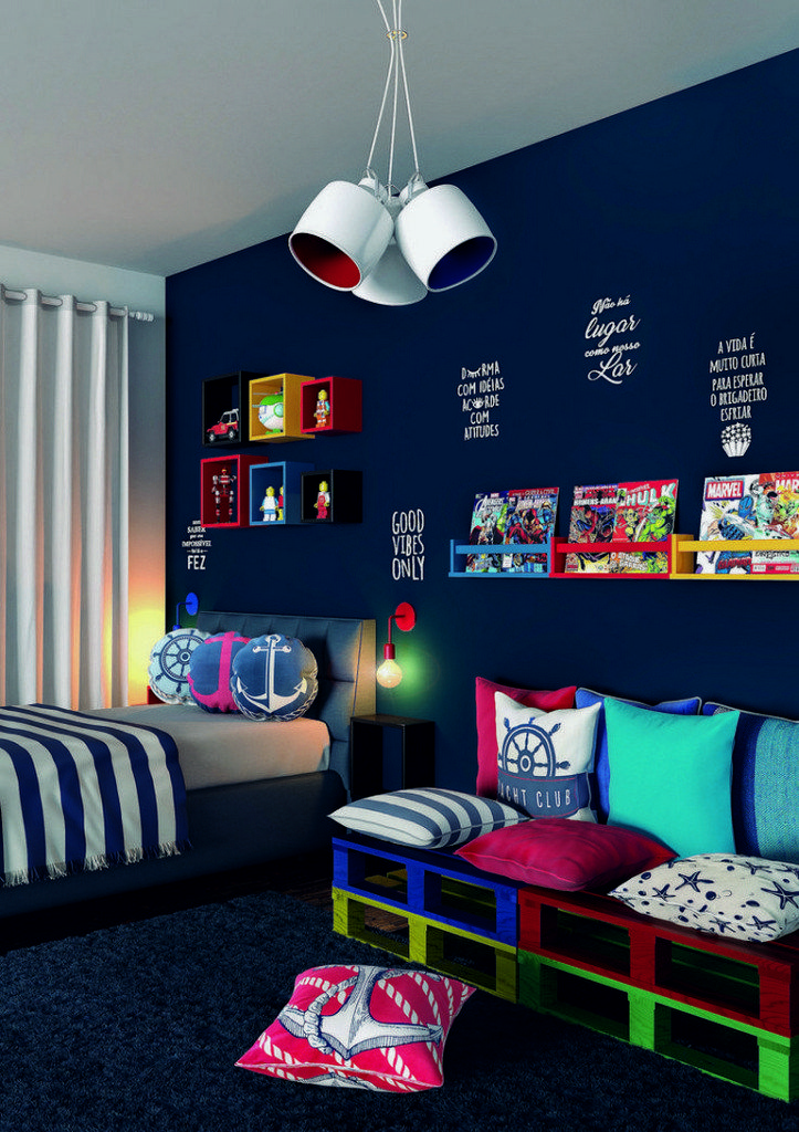 32+ cool and stylish boys bedroom ideas 7 images