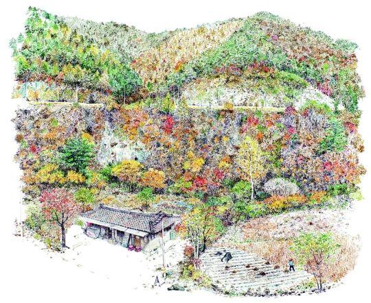 동전 하나로도 행복했던 구멍가게의 날들 이미경 그림과 글/남해의봄날·1만7000원