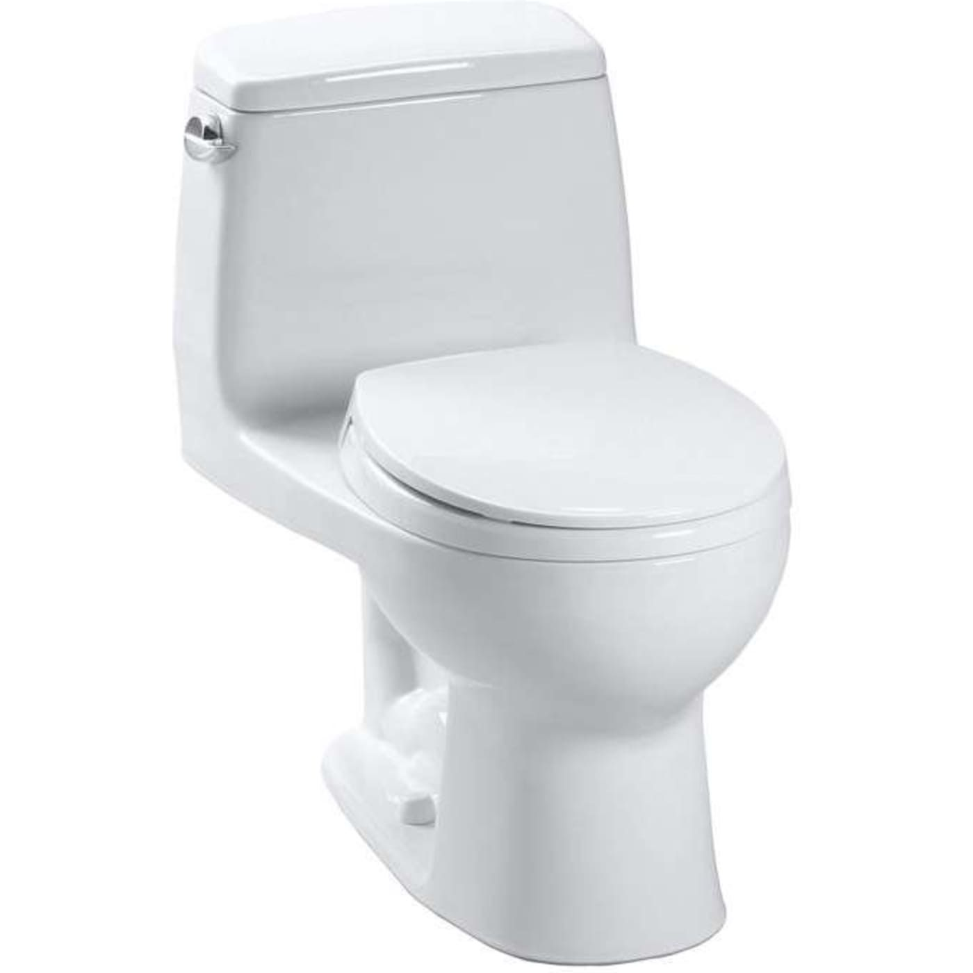 Ultramax Elongated One Piece Toilet MS854114E#11 Colonial White ...