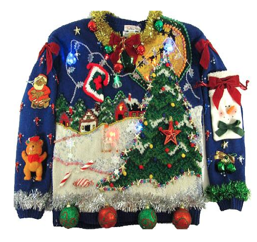 We think this is, quite possible, the WORST Christmas jumper we've ...