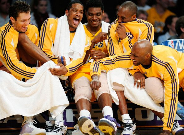 so perfect. #lakers