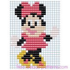 Bildergebnis für hama beads minnie mouse