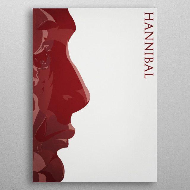Hannibal 'I was curious' by Siebe Leendertse   metal posters - Displate   Displate thumbnail