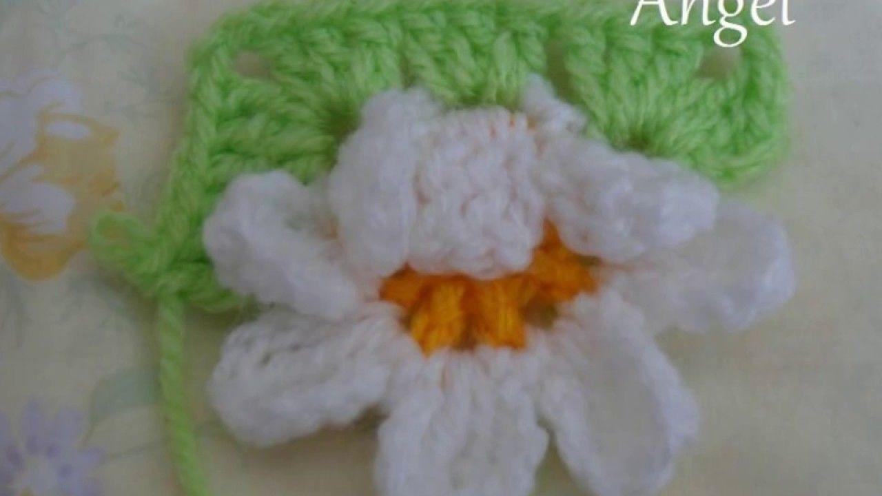 Daisy flower crochet granny squarephotos pattern pinterest daisy flower crochet granny squarephotos pattern izmirmasajfo