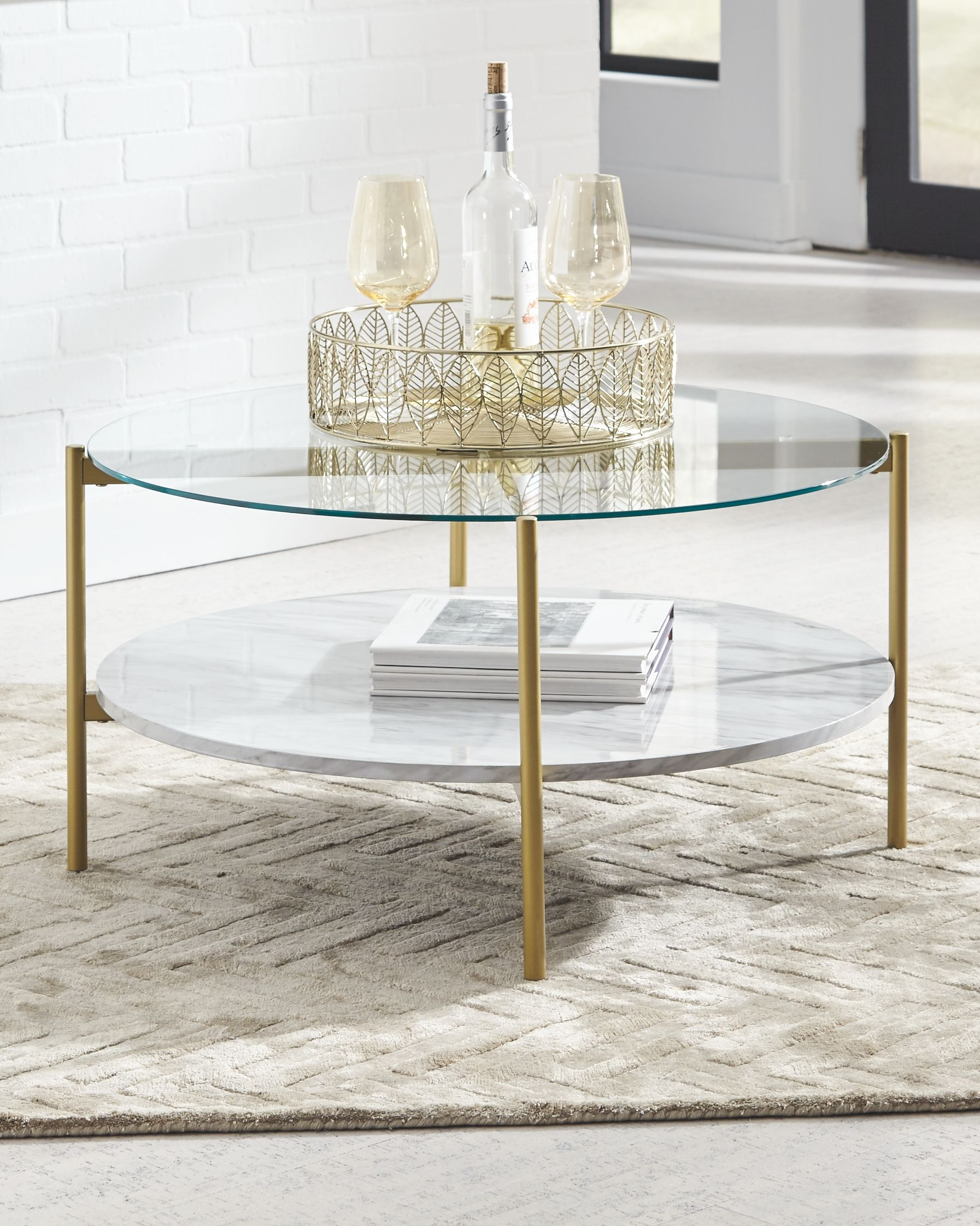 Pin By Lora Gomersall On Front Room In 2021 Gold Nesting Coffee Table Gold Coffee Table Round Gold Coffee Table [ 2242 x 1793 Pixel ]