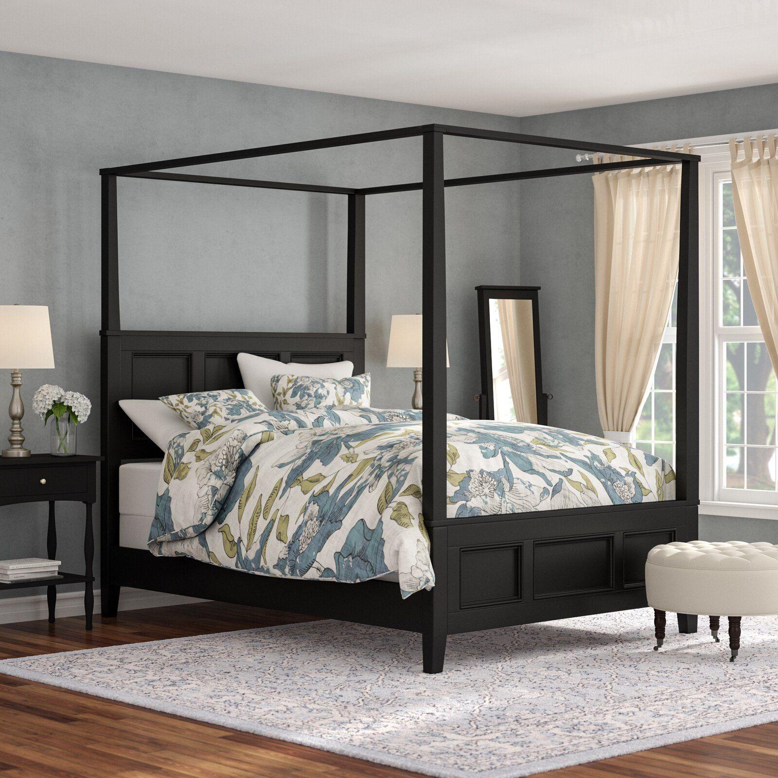 Alcott Hill Marblewood Canopy 2 Piece Bedroom Set Wayfair Bedroom Sets Simple Bedroom Home Decor