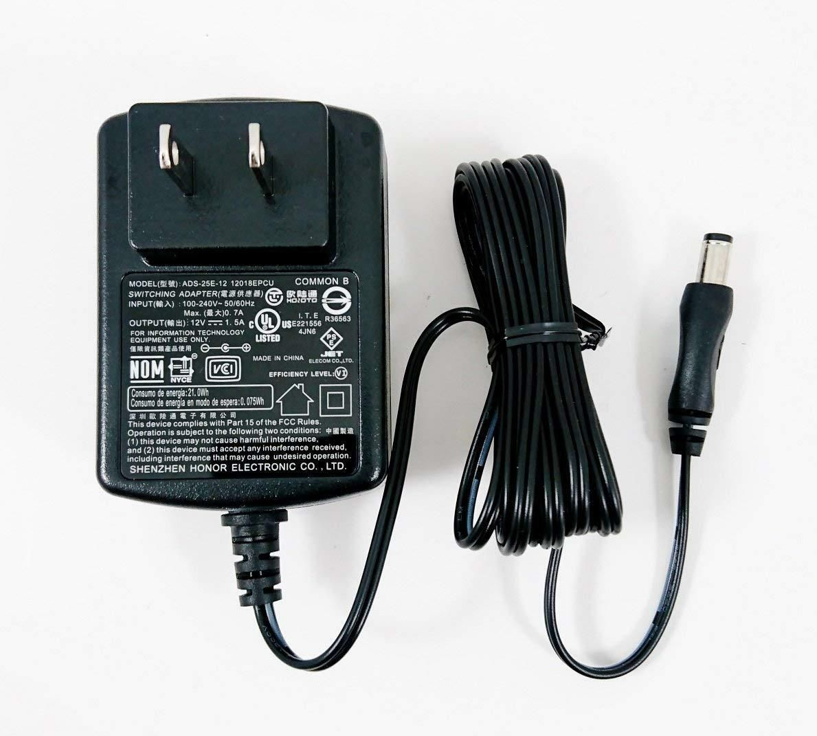 NEW 12V DC 1.0 A Switching Power Supply Adapter Input 100-240VAC 12 V 1.0A 2.5mm