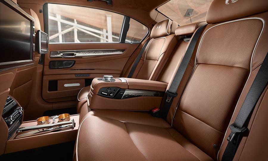 Bmw Individual Debuts 760li Sterling Bmw Luxury Car Interior Bmw Series
