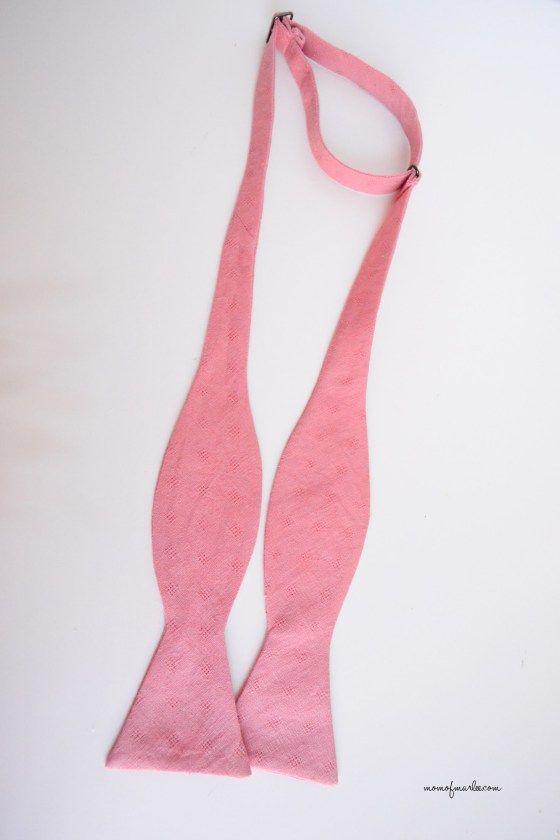 MenS Adjustable Bow Tie Free Pattern  Momofmarlee  MenS