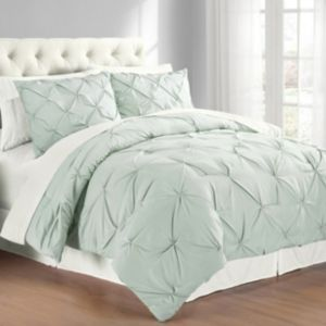 Premium Collection King Pintuck Bedding Comforter Set