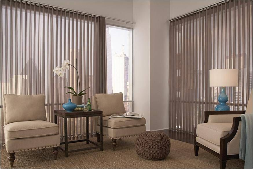 Beige Sheer Vertical Blinds By Lafayette Vertical Blinds