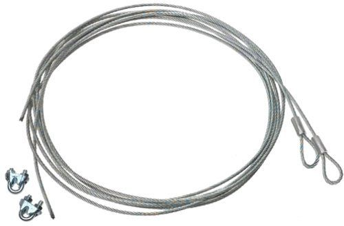 Garage Door Safety Cable 730680 By Stanley 12 37 From The Manufacturer Garage Door Ex Steel Garage Doors Garage Door Safety Extension Springs