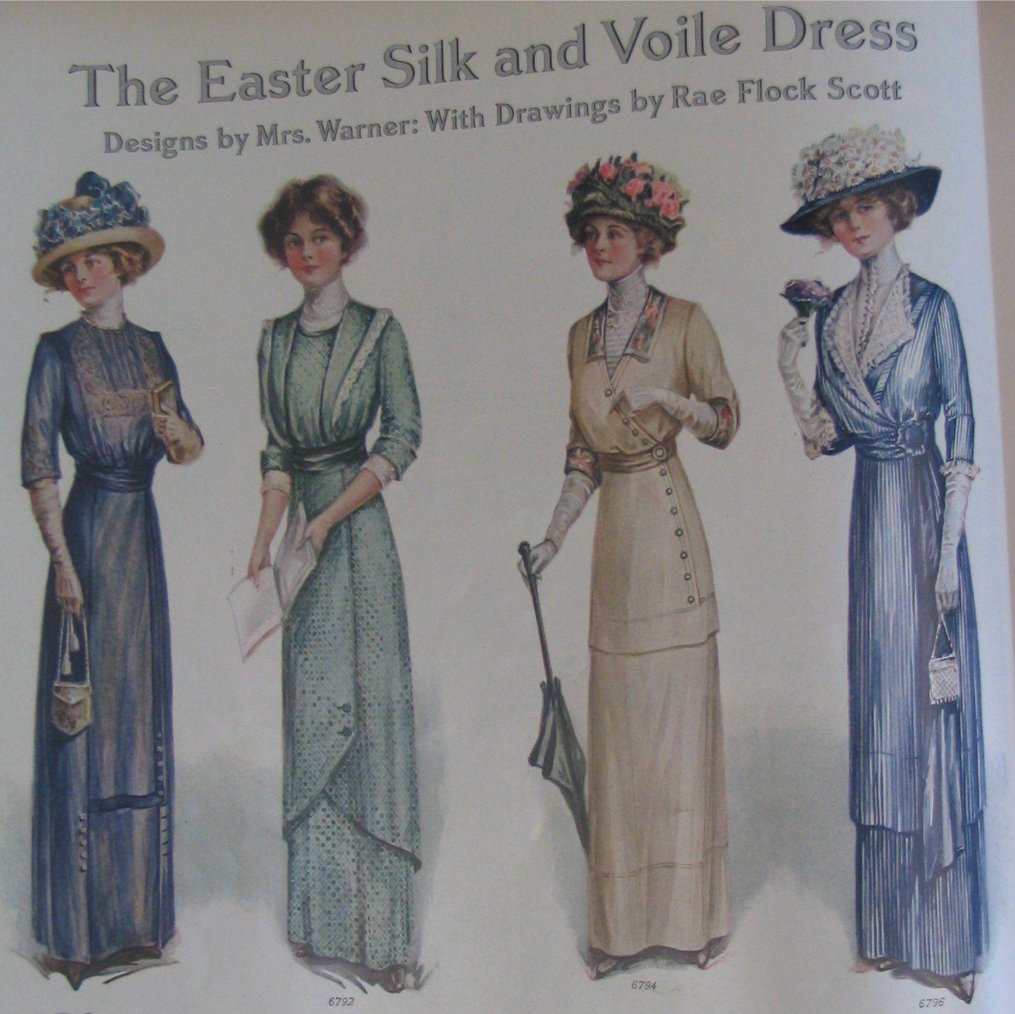 Vintage Victorian: Titanic Ladies' fashions 30