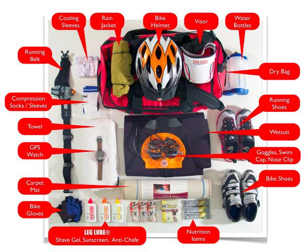 The Perfect Triathlon Transition Bag
