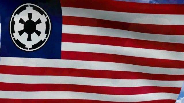 Galactic Empire American Flag Galactic Empire Galactic Empire