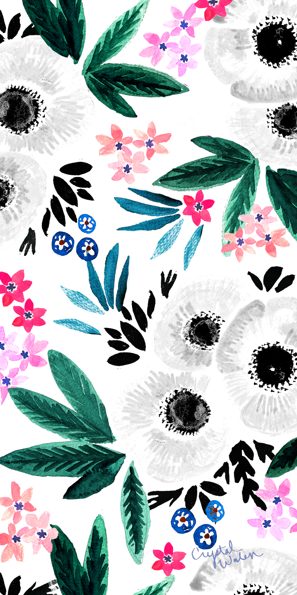Floral Wallpaper Casetify Iphone Art Design Flowers New Wallpaper Iphone Flower Wallpaper Floral Wallpaper