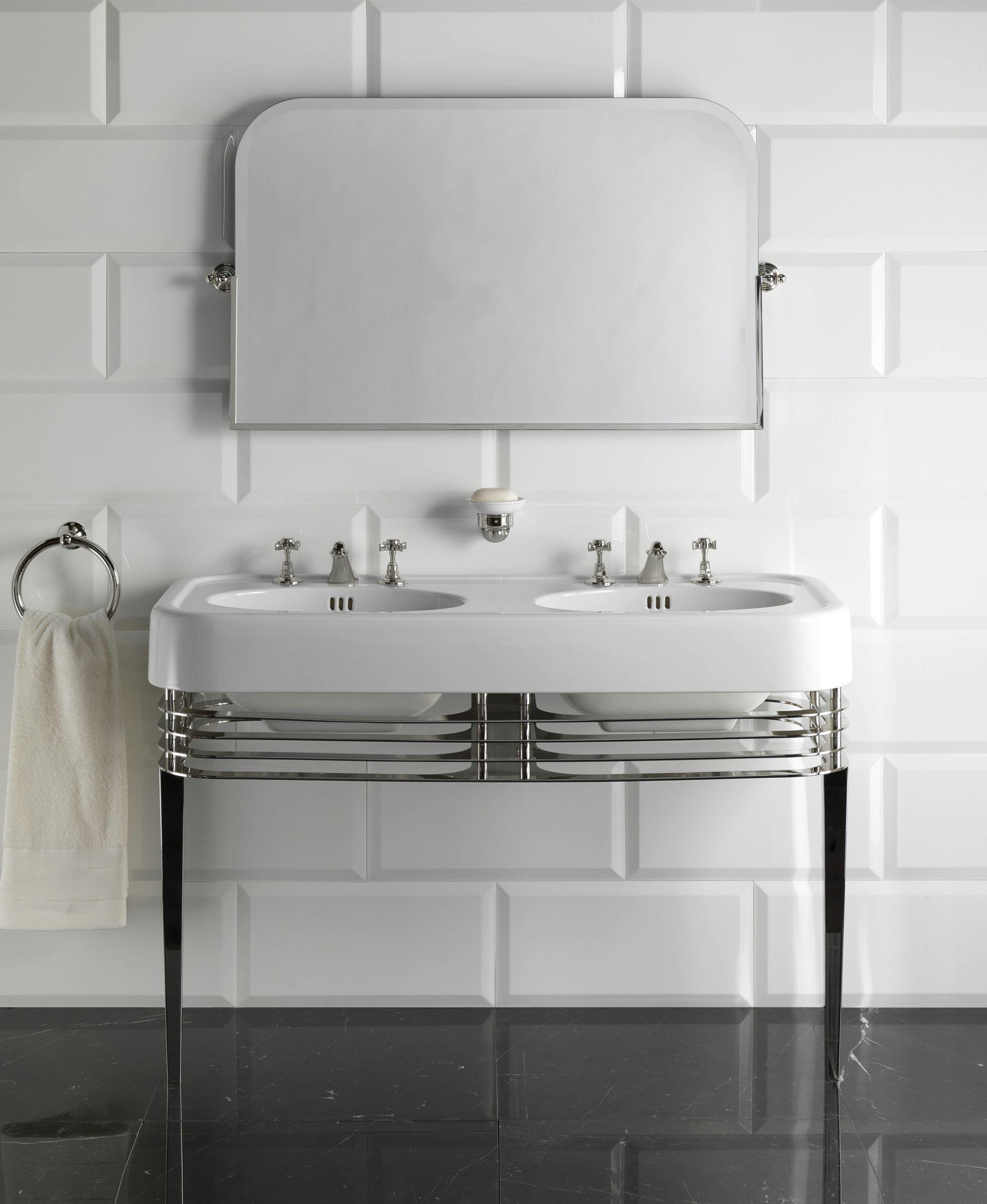 Double console sink WIDE BLUES By Devon&Devon | Single guys, Devon ...