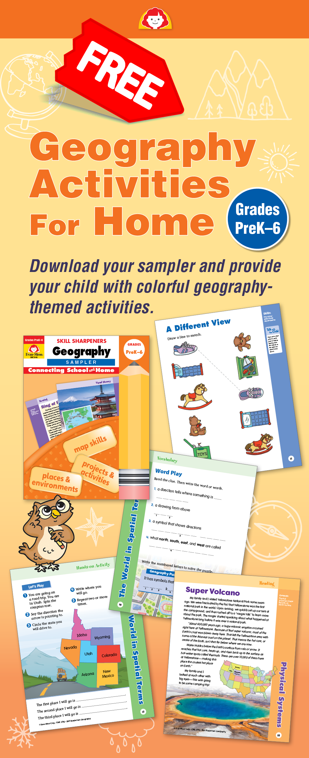 Free Sample Lessons For Skill Sharpeners Geography Enjoy - Free geography games