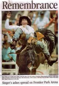 Remembering Chris Ledoux Rodeo Broncs Pinterest