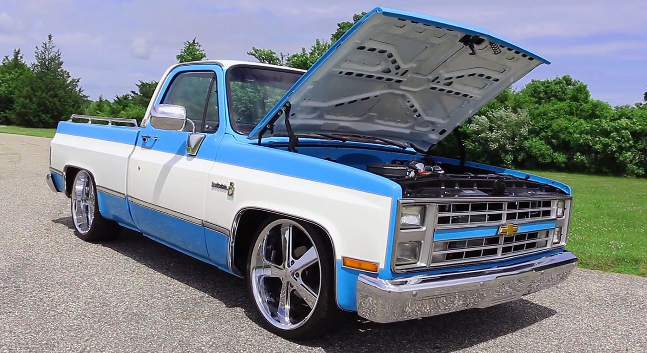 Killer 383 Stroker 1980 Chevrolet C10 Scottsdale Pickup Truck Chevy Find Out More