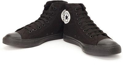 Black #Converse Hi-Top Sneakers