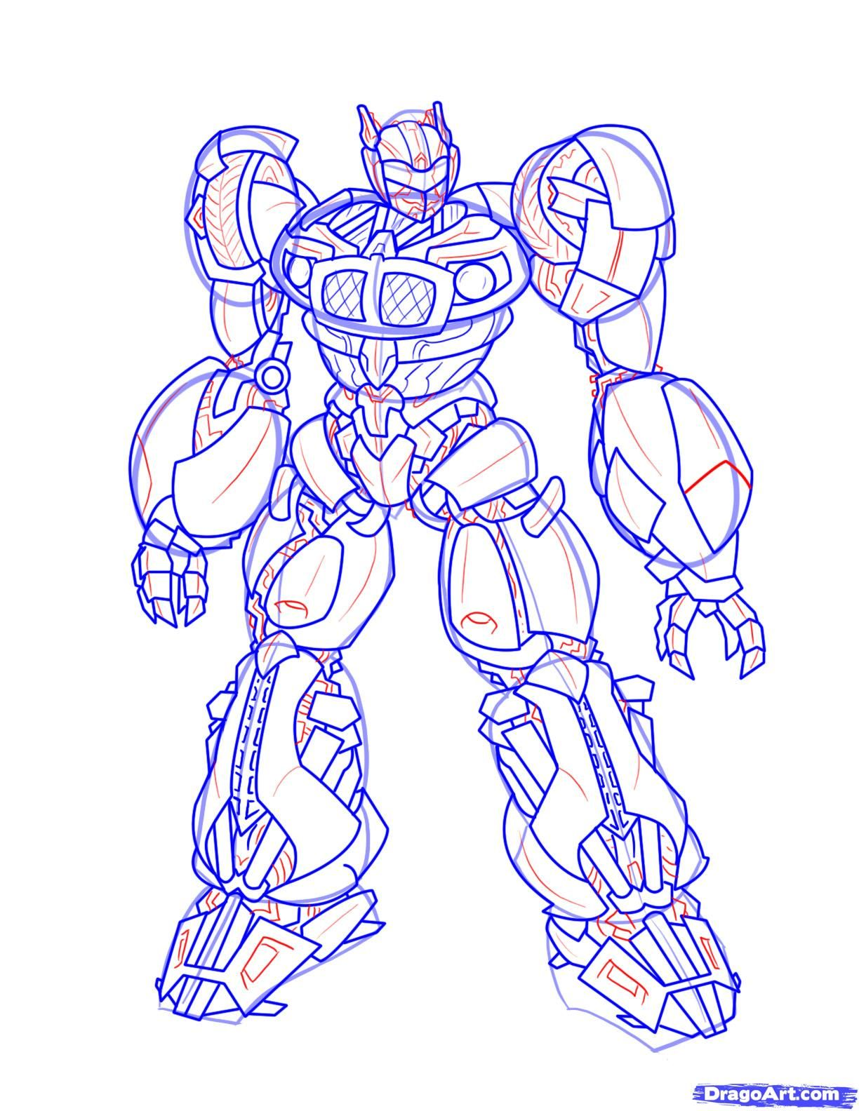 how to draw transformers | Art | Pinterest