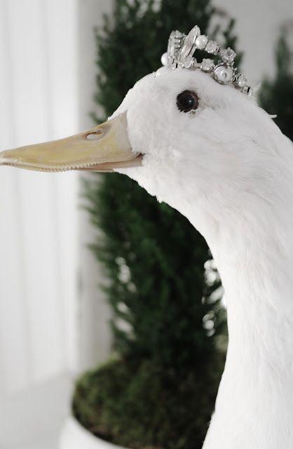 Vintage Interior: Beklager,:  Chrismas goose!