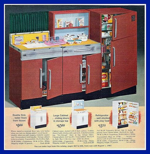 1966 Sears Christmas Catalog Toy Kitchen Toy Kitchen Retro Toys Old Toys