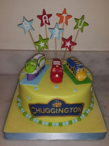 Chuggington cake Fondantmade in meyli Pinterest Chuggington